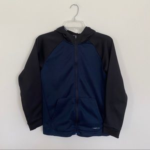 Tek Gear boys' WarmTek full zip hoodie, size L